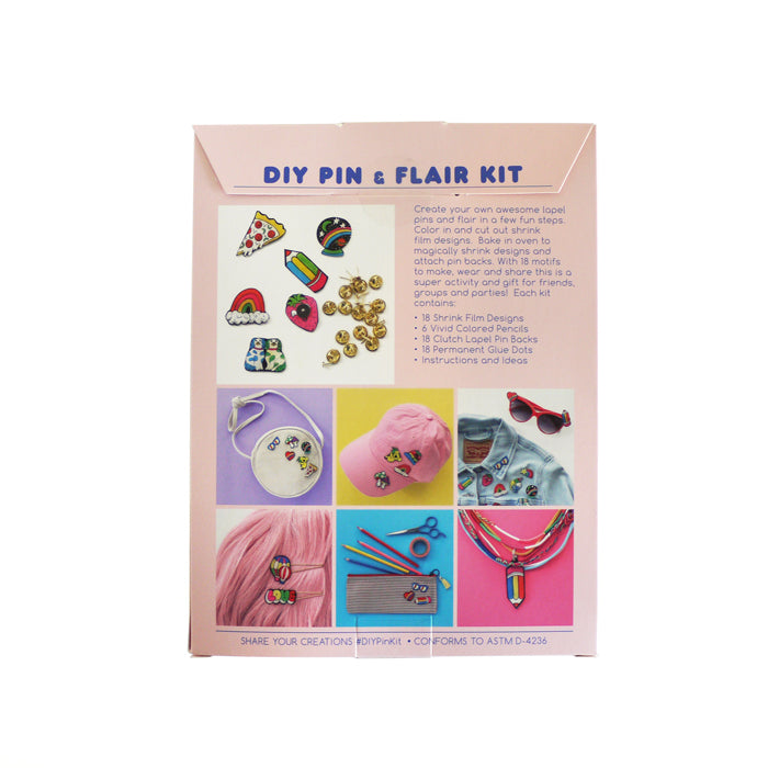DIY Pin & Flair Kit by Yellow Owl Workshop from Leanna Lin's Wonderland