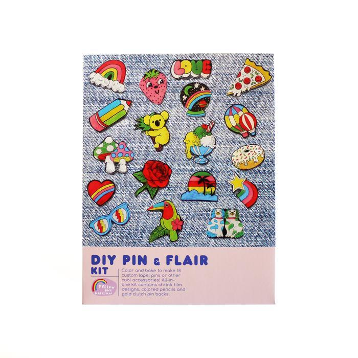 DIY Pin + Flair Kit