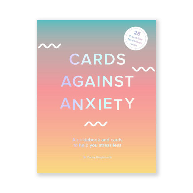 Cards Against Anxiety Guidebook + Card Set