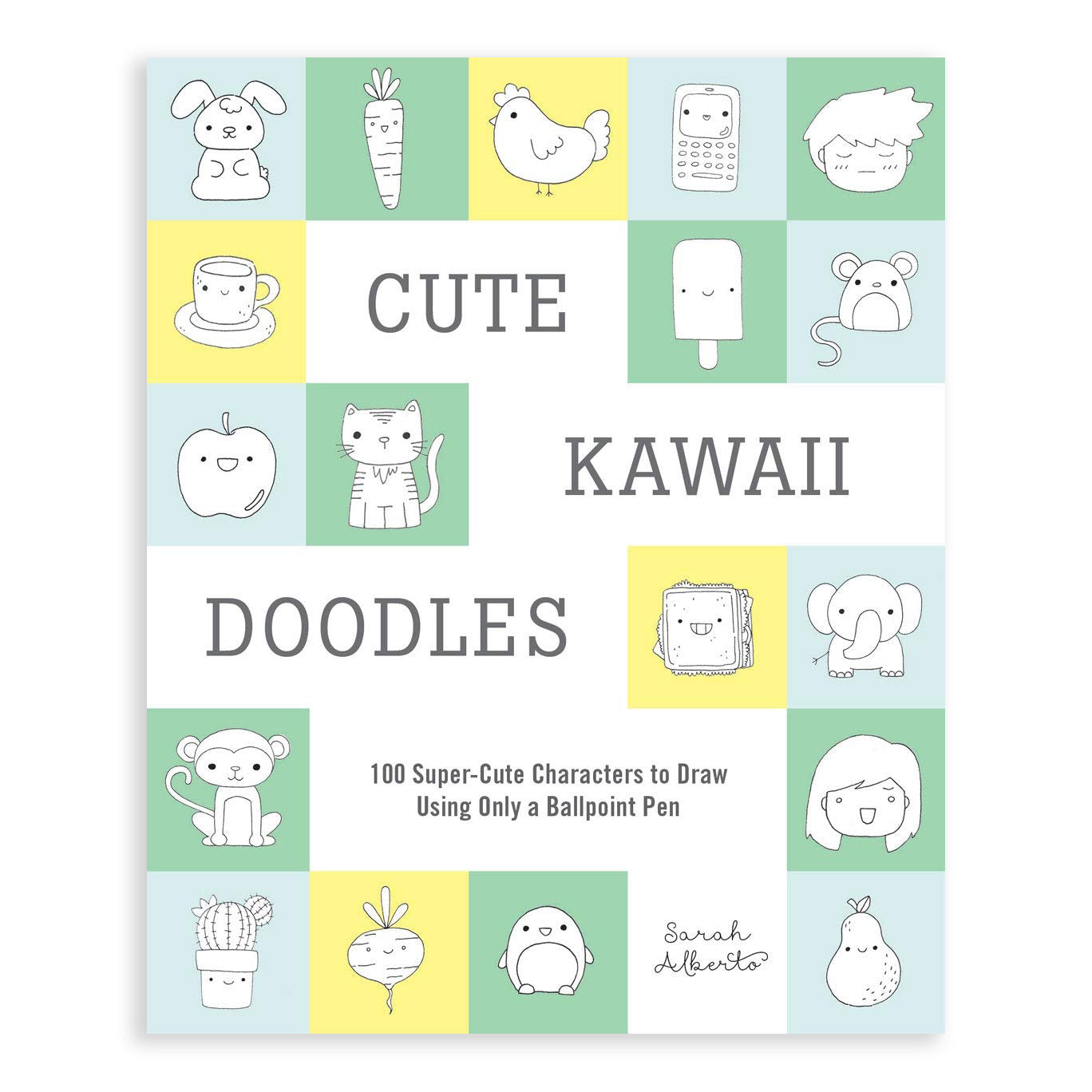 Cute Kawaii Doodles Guided Sketchbook by Abrams Books from Leanna Lin's Wonderland