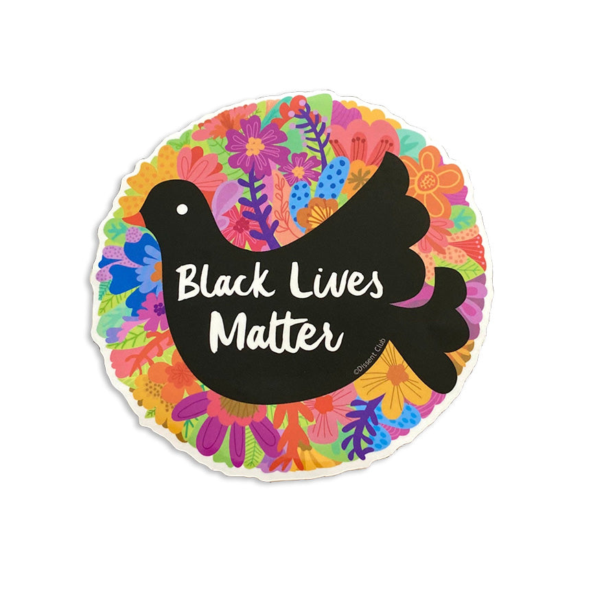 Black Lives Matter Vinyl Sticker