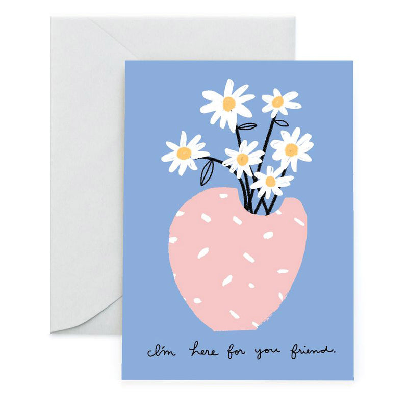 Flowers for You Friend Card by Carolyn Suzuki from Leanna Lin's Wonderland