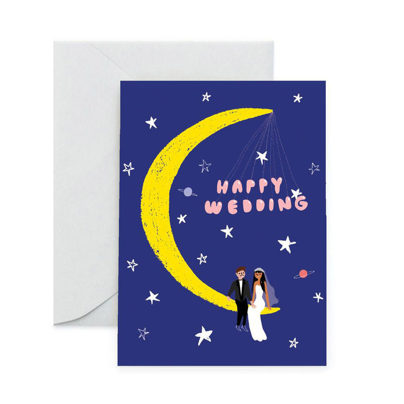 Moonlight Wedding Card by Carolyn Suzuki from Leanna Lin's Wonderland