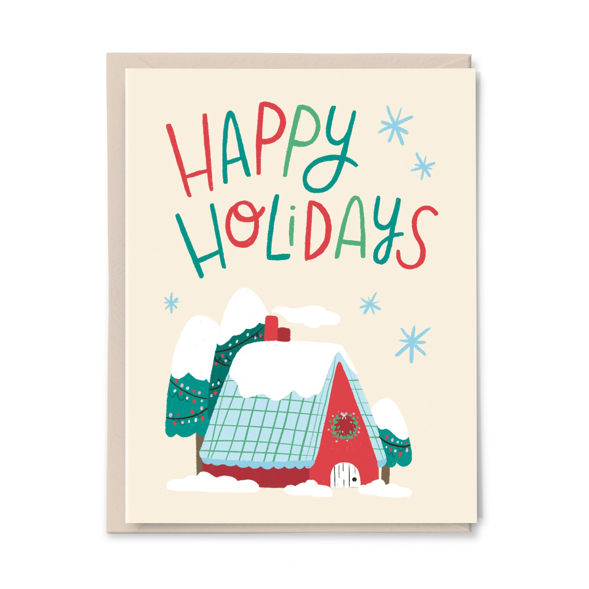 Happy Holiday Home Card