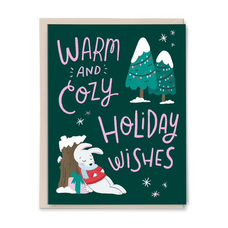 Cozy Holiday Wishes Card