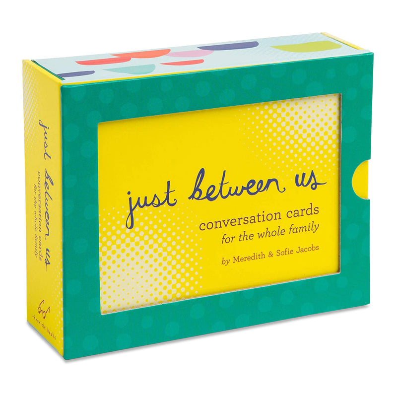 Just Between Us: Conversation Cards for the Whole Family by Chronicle Books from Leanna Lin's Wonderland