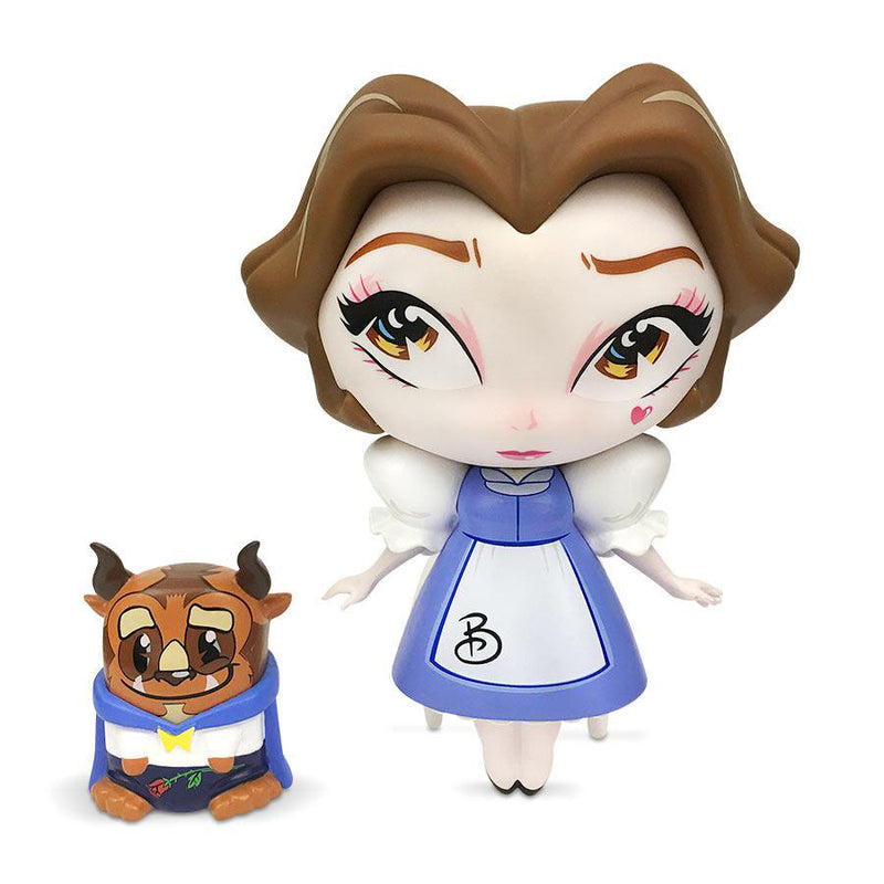 Miss Mindy x Disney Vinyl: Belle with Mini Beast (Signed by Artist)