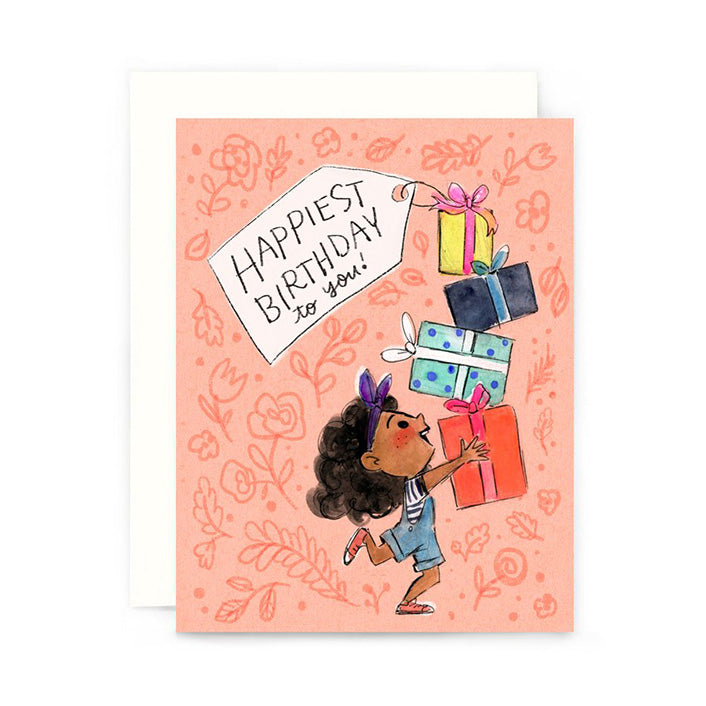 Happiest Birthday Presents Card