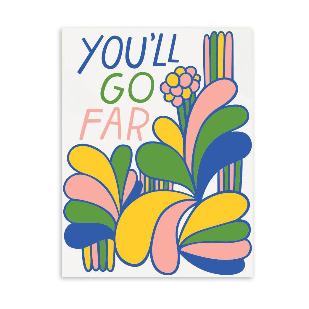 You'll Go Far Card by The Good Twin from Leanna Lin's Wonderland