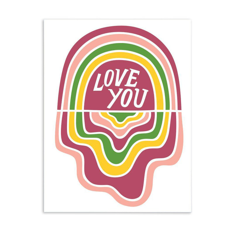 Love You Card by The Good Twin from Leanna Lin's Wonderland
