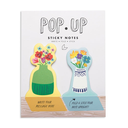 Floral Pop Up Sticky Notes