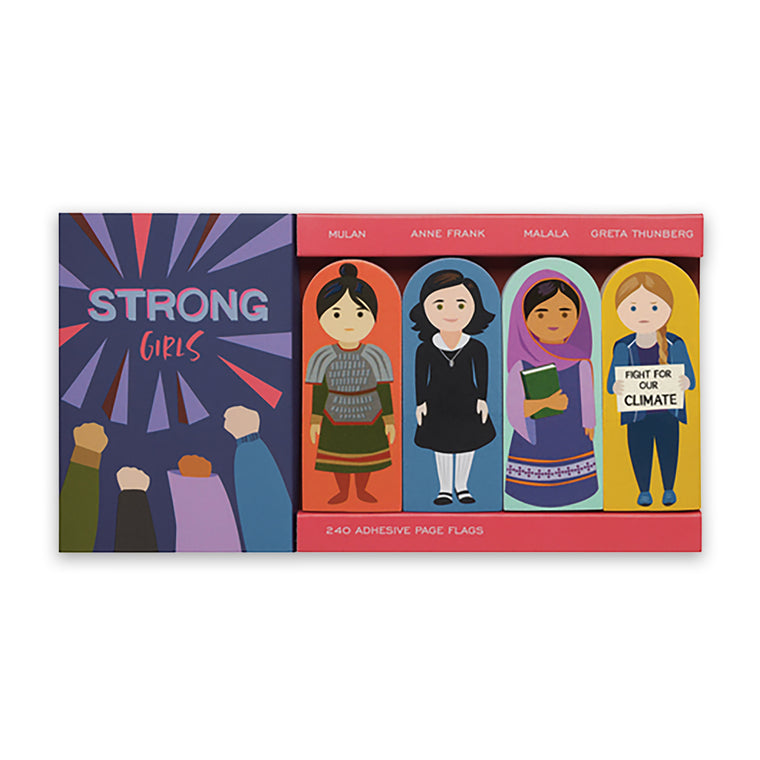 Strong Girls Page Flags