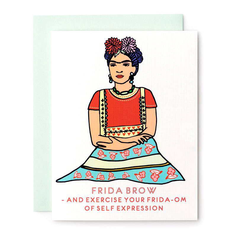 Frida Brow Card by ILOOTPAPERIE from Leanna Lin's Wonderland