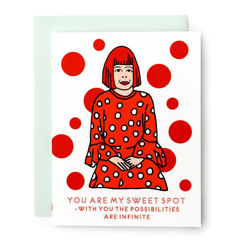Sweet Spot Kusama Card