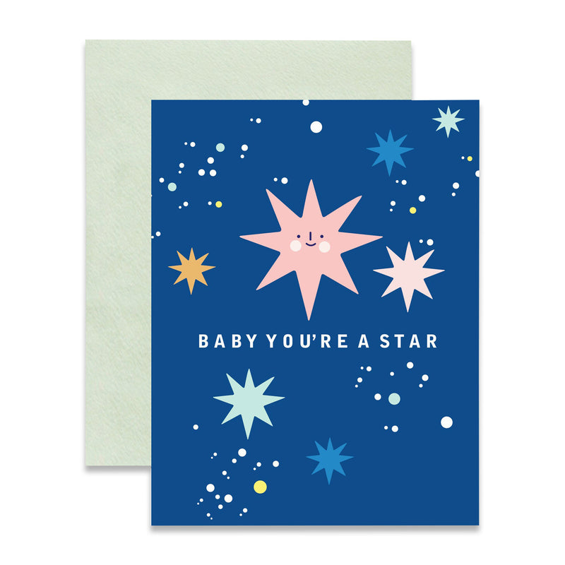 Baby You're a Star Foil Card by ILOOTPAPERIE from Leanna Lin's Wonderland