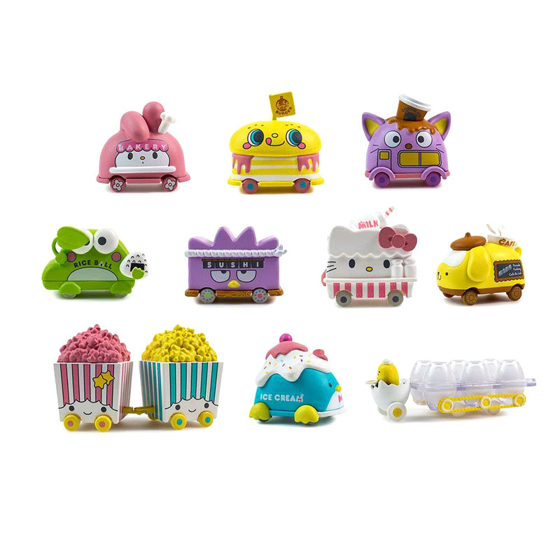 Kidrobot x Hello Sanrio Micro Vehicle Blind Bag Series