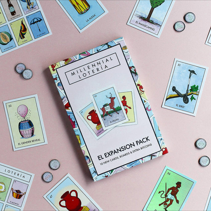 Millennial Lotería: El Loteria Expansion Pack by Penguin Random House from Leanna Lin's Wonderland