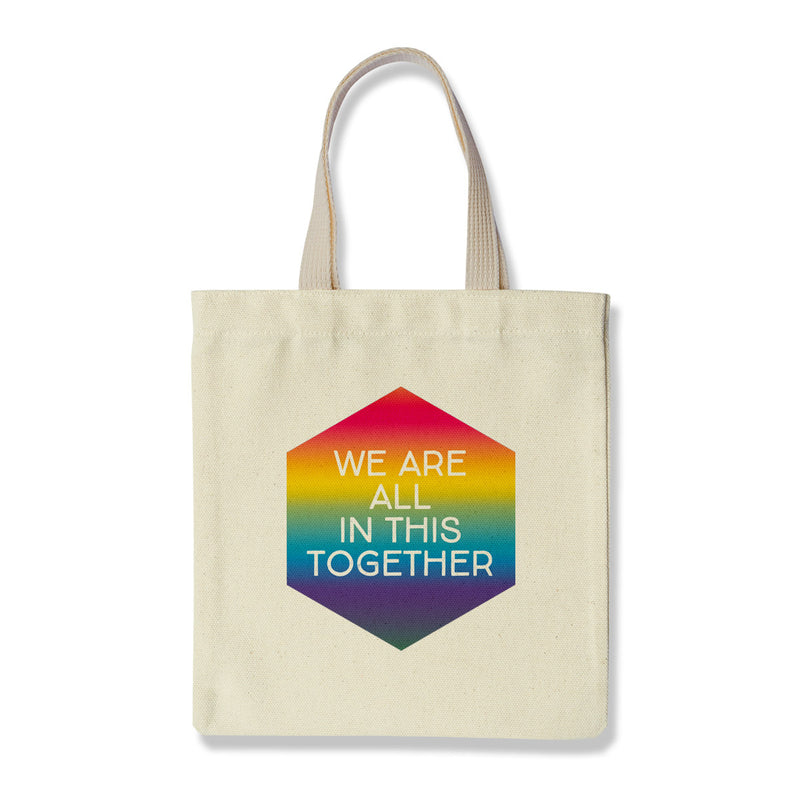 All In This Together Tote by Rock Scissor Paper from Leanna Lin's Wonderland