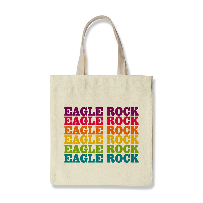 Eagle Rock Supergraphics Tote by Rock Scissor Paper from Leanna Lin's Wonderland