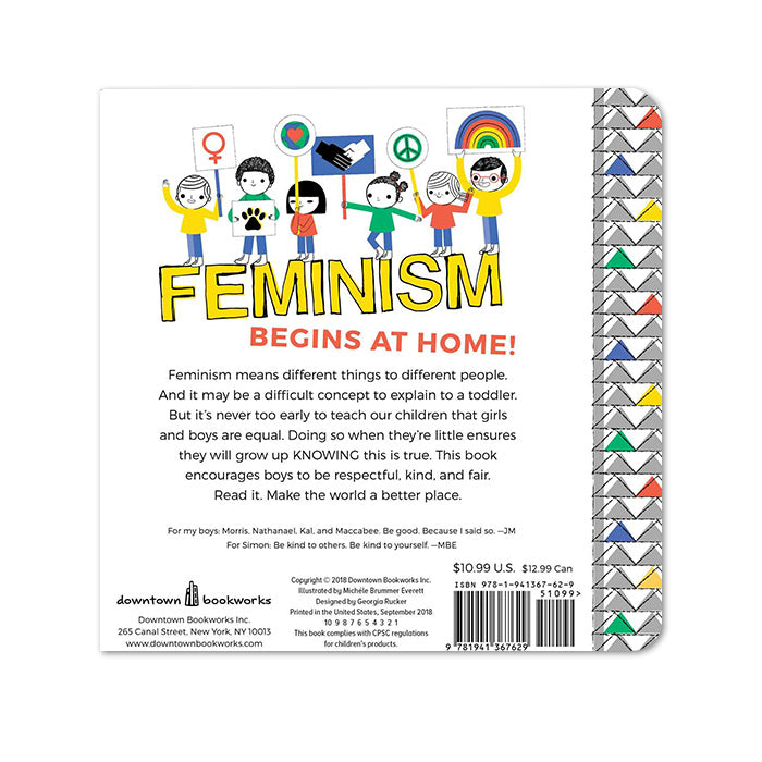 My First Book of Feminism (For Boys) by Downtown Bookworks from Leanna Lin's Wonderland