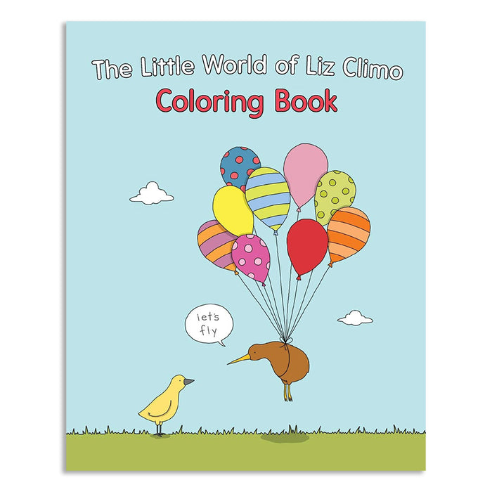 The Little World of Liz Climo Coloring Book (Signed by Artist)