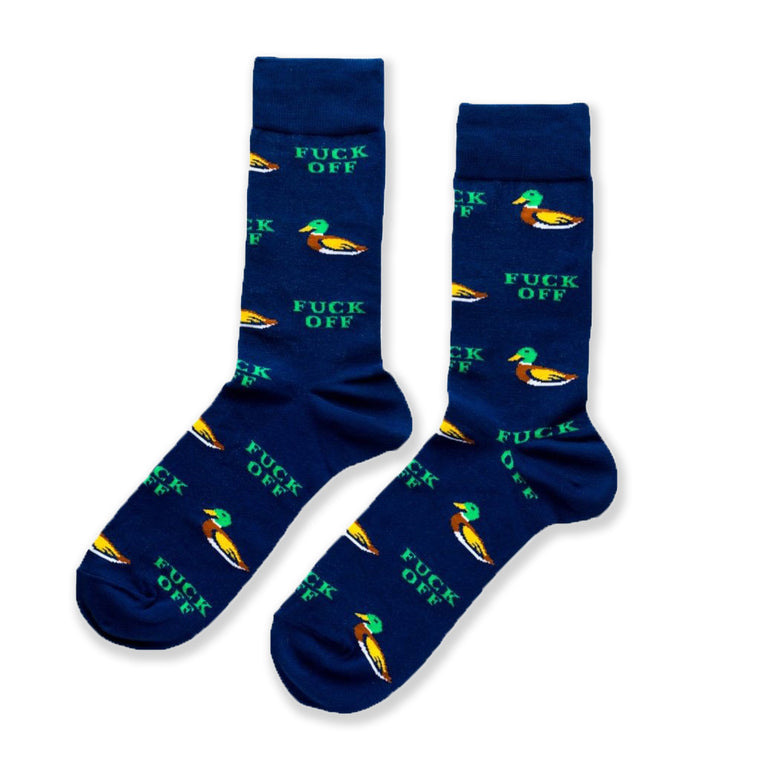 Duck Off Mens Crew Socks
