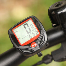 Bicycle Speedometer Cycling Computer LCD Waterproof Odometer  FREE SHIPPING