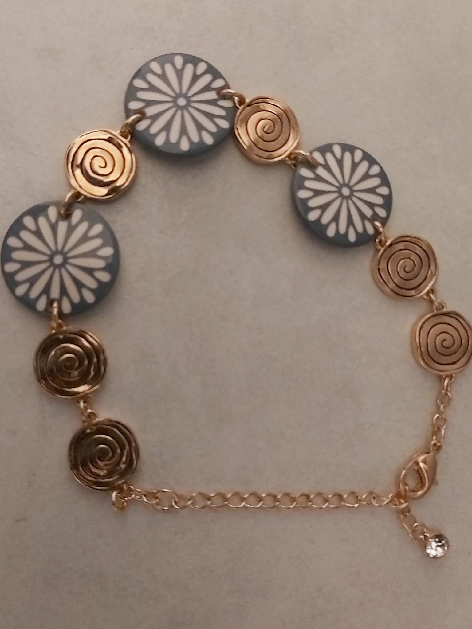 Fashion Rose Gold Bracelet