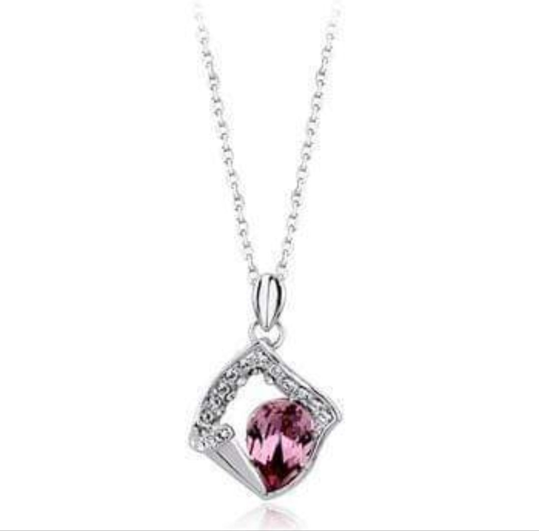 Fashion Women's Crystal Necklace Pendant