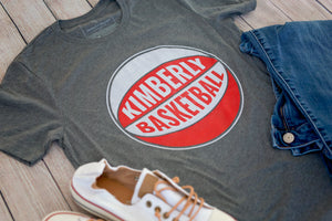 Kimberly Basketball Crew T-Shirt