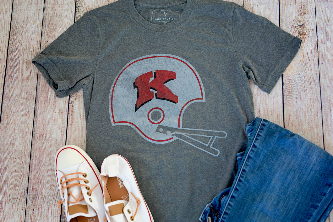Kimberly Football Helmet Crew T-Shirt