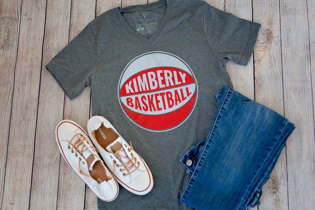 Kimberly Basketball V-Neck T-Shirt