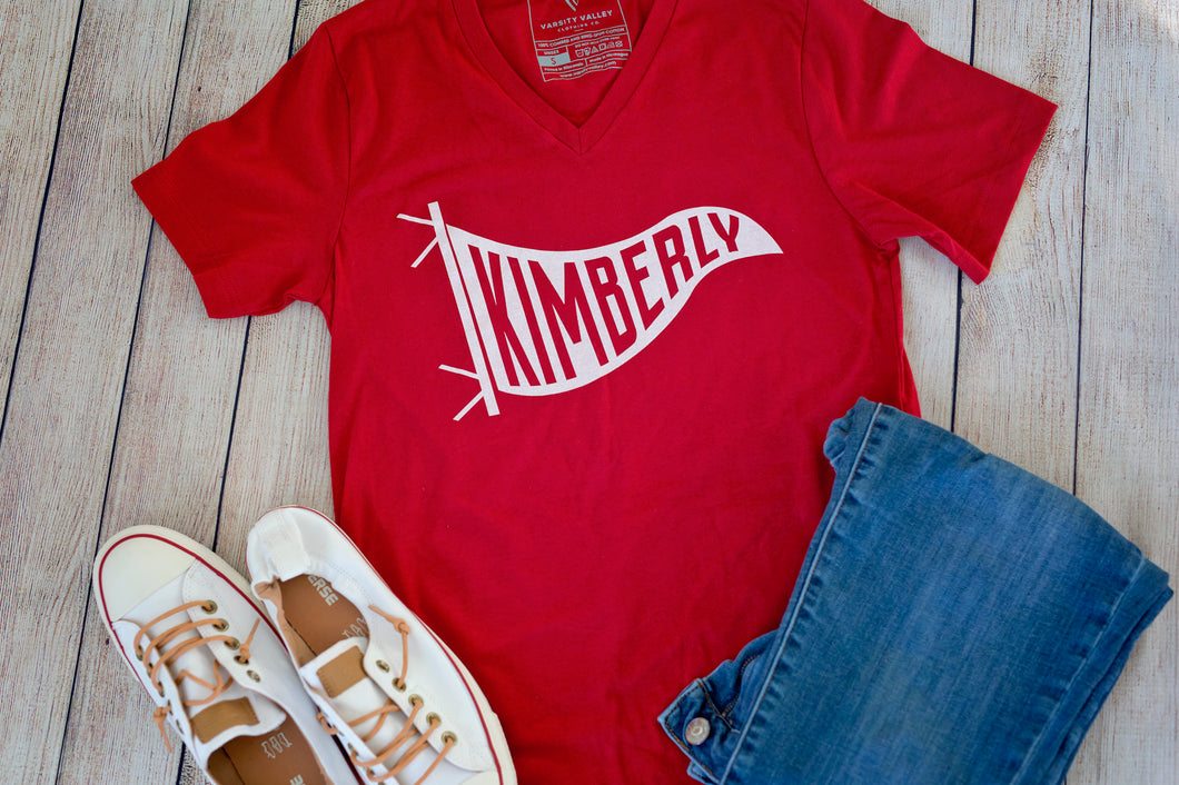 Kimberly Pennant V-Neck T-Shirt