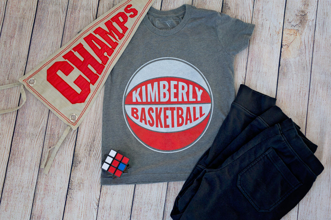 Kimberly Basketball Youth Crew T-Shirt