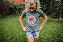 Load image into Gallery viewer, Kimberly Football Helmet Youth Crew T-Shirt