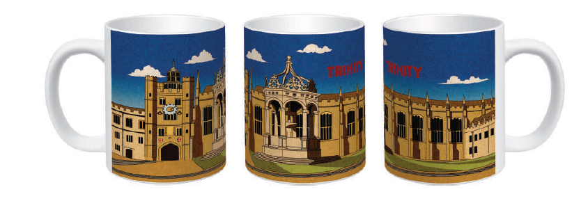 Trinity Great Court Mug