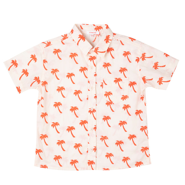 Boys Shirt Palm Tree