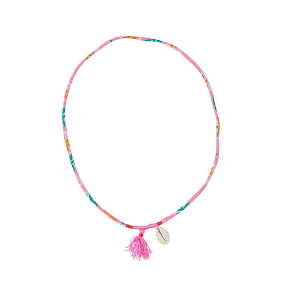 Cotton Tassel Piccolo Fiore Necklace