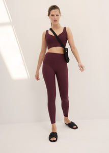 hailey legging - cherry rib