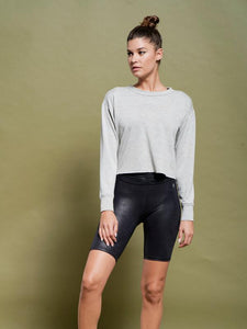 RORI PULLOVER HEATHER FRONT