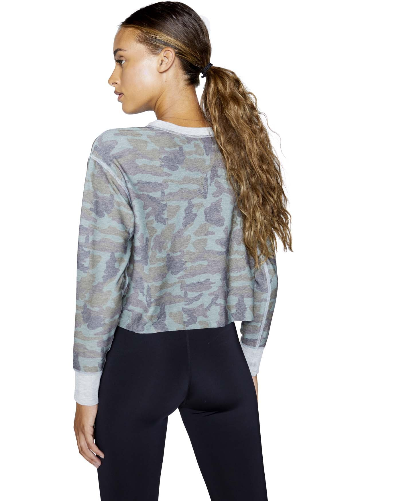 Rori Pullover Camo & Heather