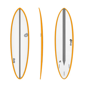 Σανίδα surf Torq 6'8'' Epoxy TET CS Fun Carbon Orange