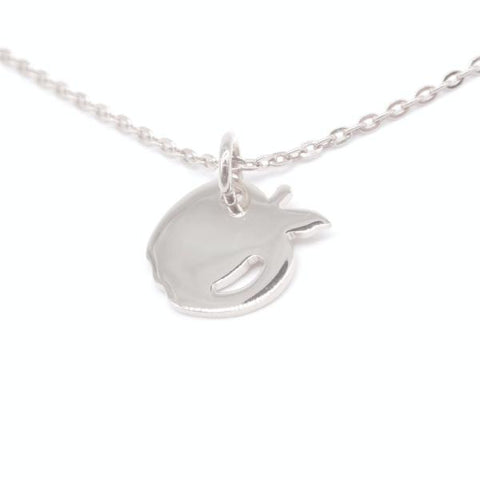 Apple Necklace (Silver)