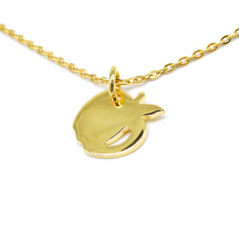 Apple Necklace (Gold)