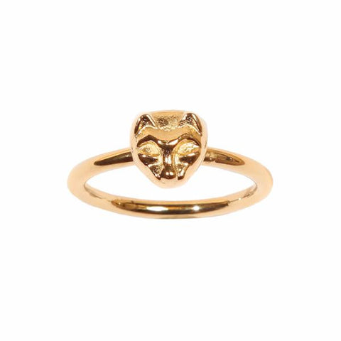 Cat ring 14k gold - Correy & Lyon jewellery