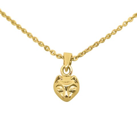 Cat necklace 14k gold - Correy & Lyon jewellery