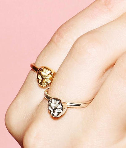 Cat ring gold - Correy & Lyon jewellery