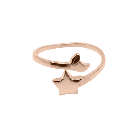 Cosmic Ring (Rose Gold) - Correy & Lyon Silver Jewellery