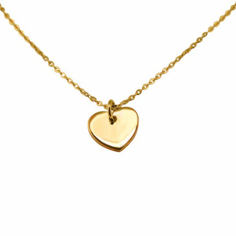 Heart Necklace (Gold)