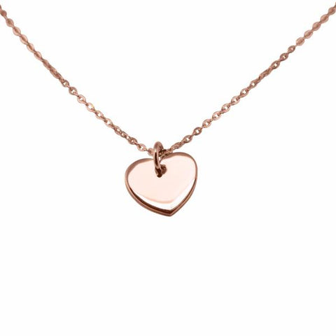 Heart Necklace 14k rose gold - Correy & Lyon jewellery